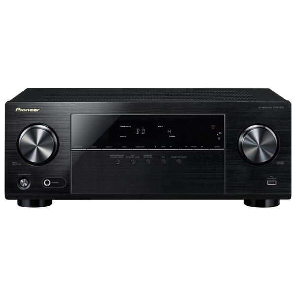 Ресивер Pioneer VSX-330-K набор для домашнего кинотеатра attitude echo 5 0 vsx 330 k