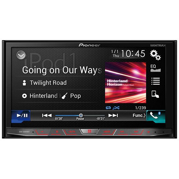 Автомобильная магнитола с DVD + монитор Pioneer AVH-X8800BT