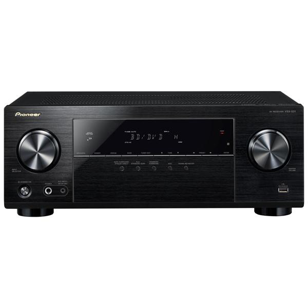 Ресивер Pioneer VSX-531 Black набор для домашнего кинотеатра pioneer htb 531 21tb