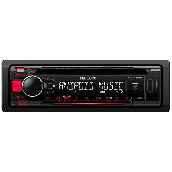 Автомобильная магнитола с CD MP3 Kenwood KDC-150RY