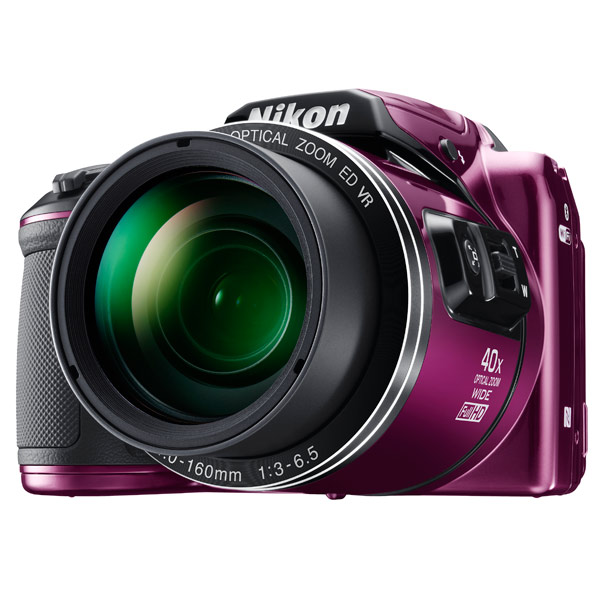 Фотоаппарат компактный Nikon Coolpix B500 Plum фотоаппарат nikon coolpix a10 purple purple lineart 16mp 5x zoom sd usb 2 7