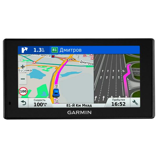 Портативный GPS-навигатор Garmin DriveSmart 60 RUS LMT garmin drivesmart 50 rus lmt