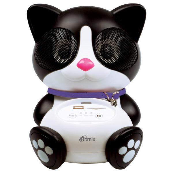 Портативная аудиосистема Ritmix ST-560 Cat карты памяти