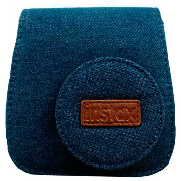 Аксессуар для Fujifilm INSTAX Fujifilm Чехол Instax Mini 8 Jeans Soft Case сумка fujifilm для instax mini 8 case raspberry
