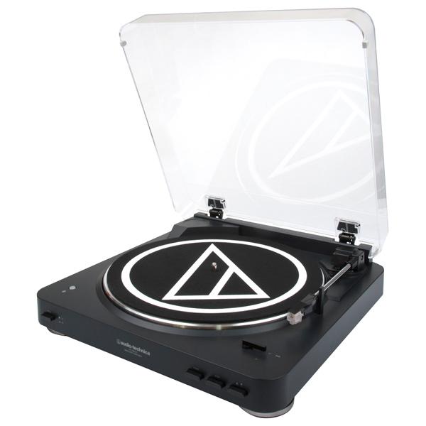 Проигрыватель виниловых дисков Audio-Technica AT-LP60BK-BT головка звукоснимателя audio technica at f2