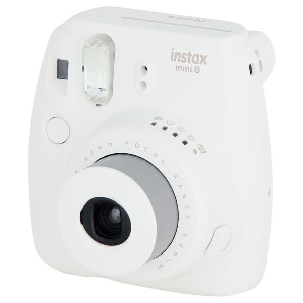 Фотоаппарат моментальной печати Fujifilm Instax Mini 8 White фотоаппарат моментальной печати fujifilm instax mini 8 white