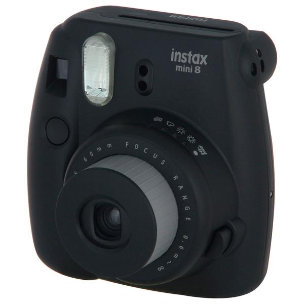 Фотоаппарат моментальной печати Fujifilm Instax Mini 8 Black fujifilm instax mini 8 черный