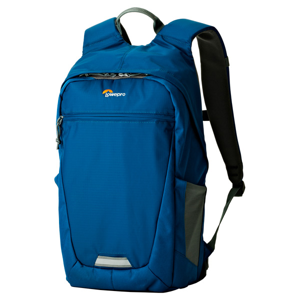 Рюкзак для фотоаппарата Lowepro Photo Hatchback BP 150 AW II Midnight Blue/Grey синего цвета