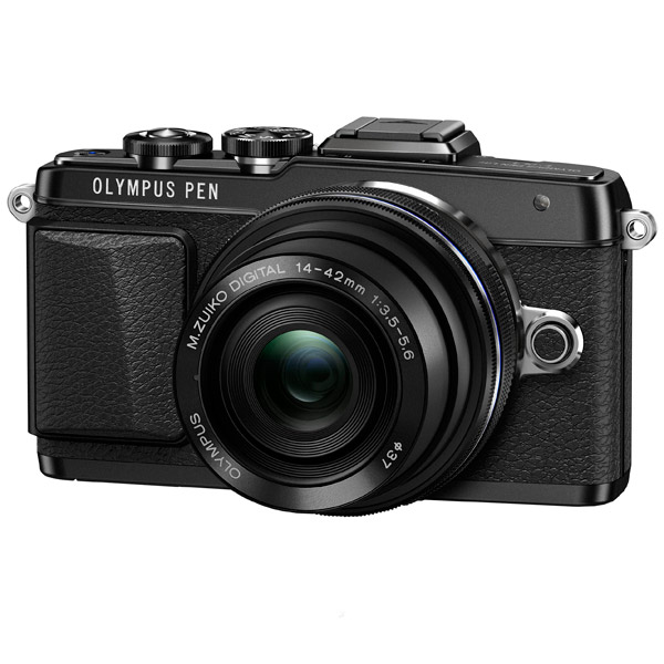 Olympus, Фотоаппарат системный, E-PL7 Pancake Zoom Kit Black