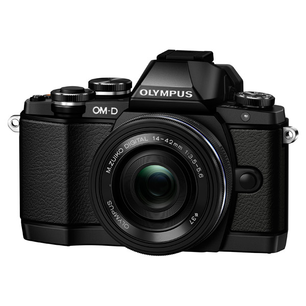 Olympus, Фотоаппарат системный, E-M10 Pancake Zoom Kit Black