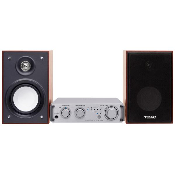 Hi-Fi система Teac HR-S101 Silver/Cherry цена