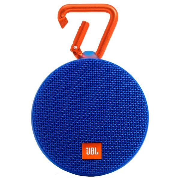 Беспроводная акустика JBL Clip 2 Blue (JBLCLIP2BLUE) беспроводная акустика interstep sbs 150 funnybunny blue is ls sbs150blu 000b201