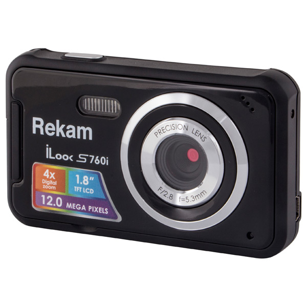 Фотоаппарат компактный Rekam iLook S760i Black walkera g 2d camera gimbal for ilook ilook gopro 3 plastic version