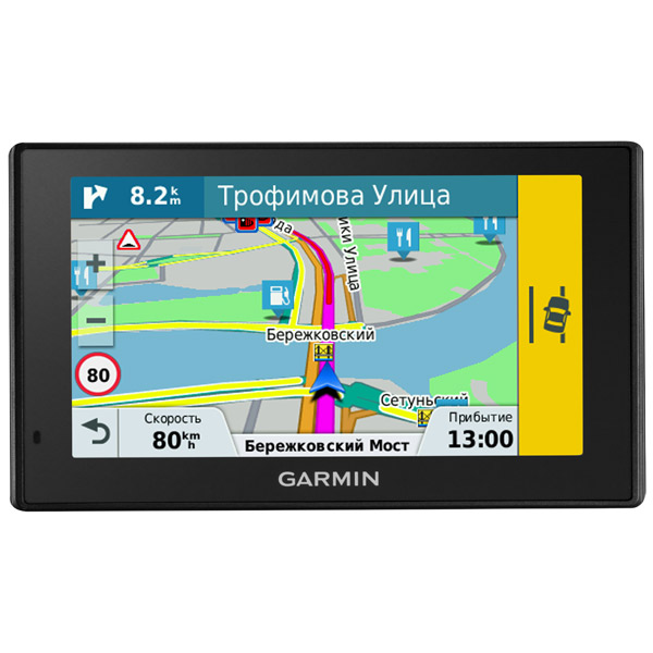 Портативный GPS-навигатор Garmin DriveAssist 50 garmin driveassist 50 lm europe
