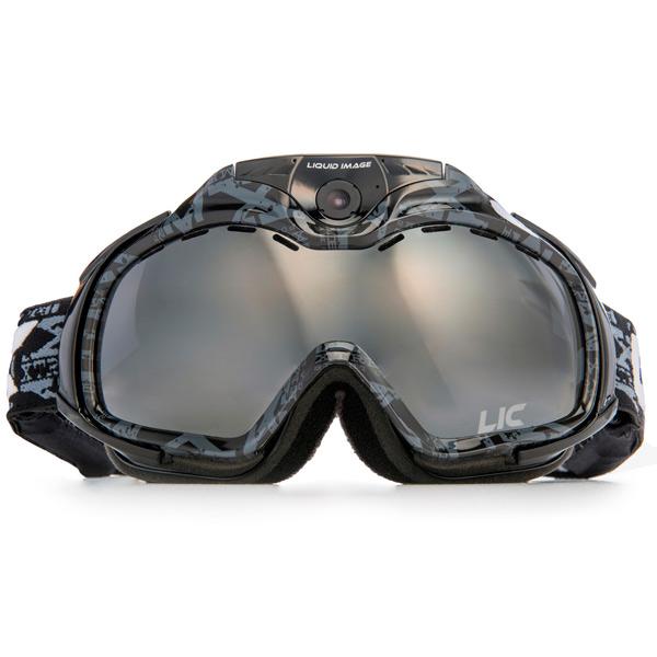 Видеокамера экшн Liquid Image горнолыжная маска APEX Camera Goggle HD338 Black