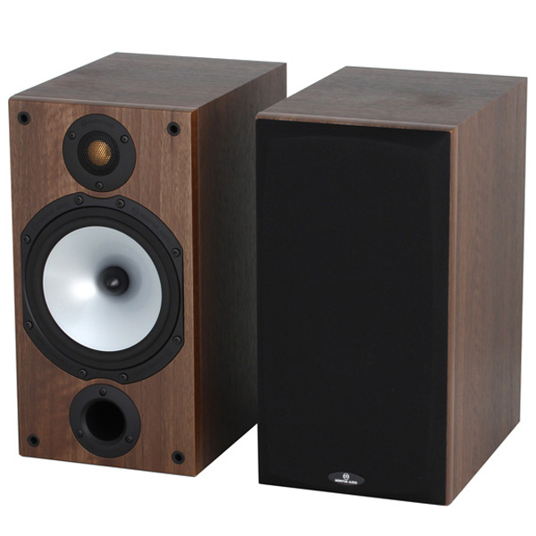 Полочные колонки Monitor Audio Monitor MR2 Walnut полочные колонки monitor audio monitor mr2 walnut