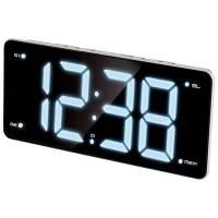 Радио-часы MAX CR-2911, цвет черный, код