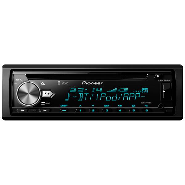 Автомобильная магнитола с CD MP3 Pioneer DEH-X5900BT автомагнитола pioneer deh x5900bt deh x5900bt