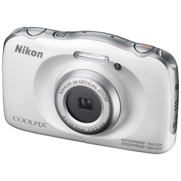 Фотоаппарат компактный Nikon Coolpix W100 White Backpack kit зарядное устройство для фотоаппарата nikon coolpix s3500