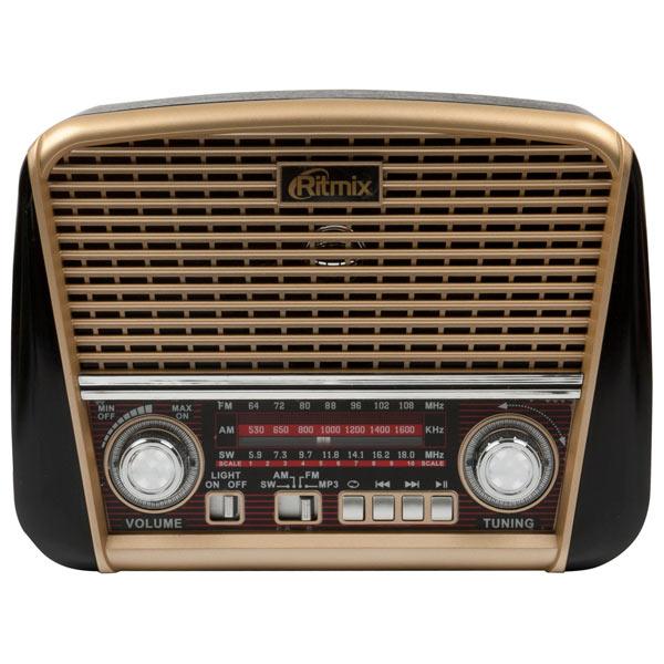 Радиоприемник Ritmix RPR-050 Gold антенны телевизионные ritmix антенна телевизионная