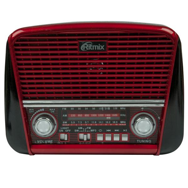 Радиоприемник Ritmix RPR-050 Red радиоприемник дв св укв