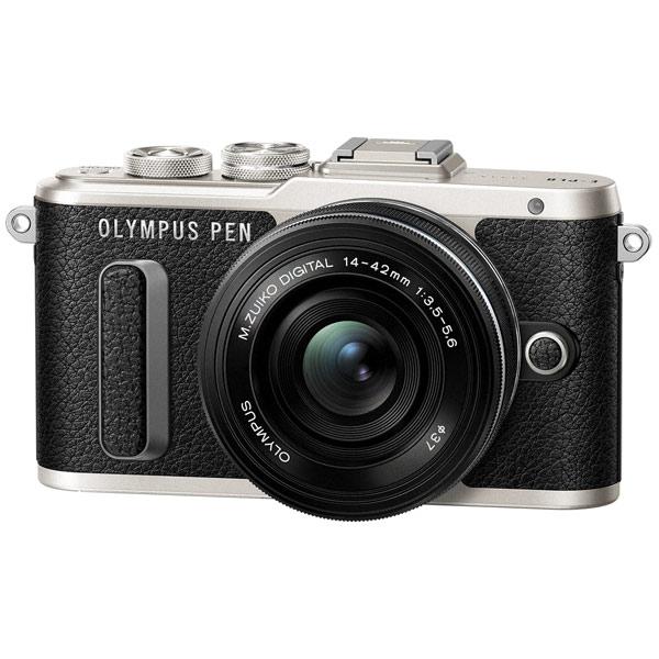 Фотоаппарат системный Olympus E-PL8 black + 14-42 EZ black фотоаппарат со сменной оптикой olympus pen e pl8 kit 14 42mm ez белый