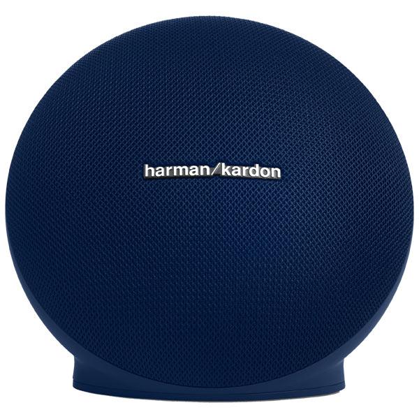 Беспроводная акустика Harman/Kardon Onyx Mini Blue (HKONYXMINIBLUEU) портативная акустическая система harman kardon onyx studio 3 серый onyxstudio3grayeu