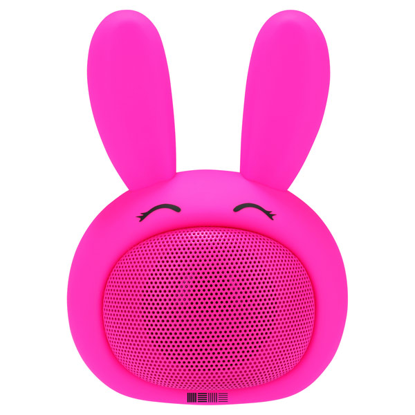 Беспроводная акустика InterStep SBS-150 FunnyBunny Pink (IS-LS-SBS150PIN-000B201) interstep funny bunny 3w sbs 150 pink портативная bluetooth колонка