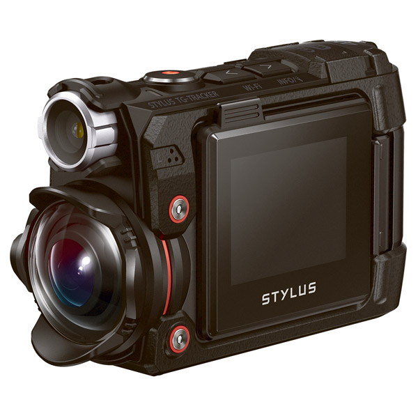 Видеокамера экшн Olympus TG-Tracker Black
