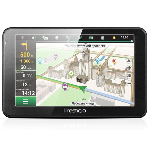 Портативный GPS-навигатор Prestigio