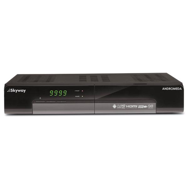 Комплект цифрового ТВ Skyway Andromeda комплект цифрового тв нтв плюс hd simple сибирь
