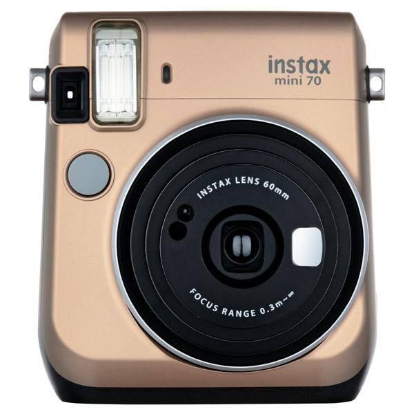 Фотоаппарат моментальной печати Fujifilm Instax Mini 70 Gold