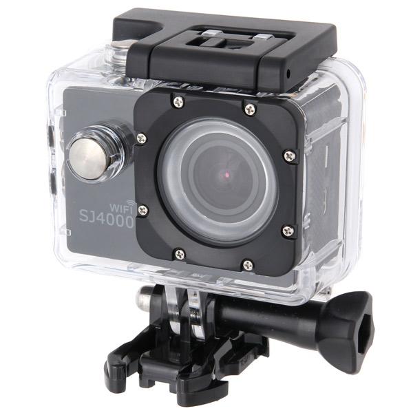 Видеокамера экшн SJCAM SJ4000 Wi-Fi Black