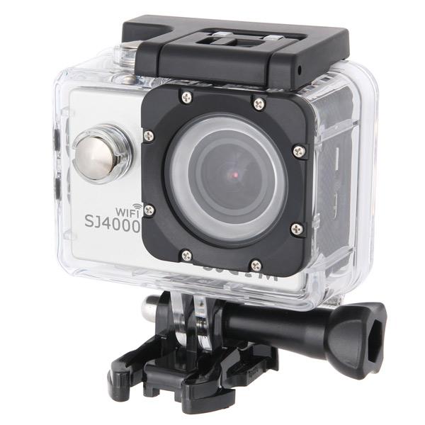 Видеокамера экшн SJCAM SJ4000 Wi-Fi Silver