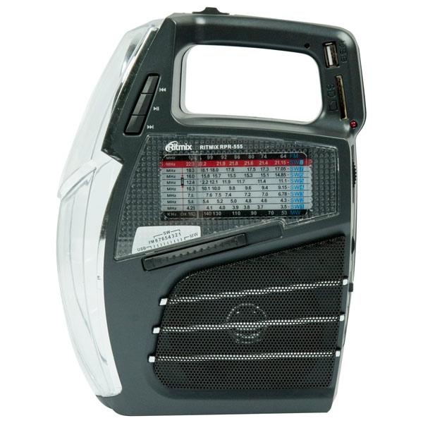 Радиоприемник Ritmix RPR-555 радиоприемник дв св укв