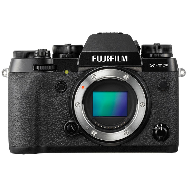 Фотоаппарат системный премиум Fujifilm X-T2 Body Black фотоаппарат fujifilm x t1 body graphite silver edition