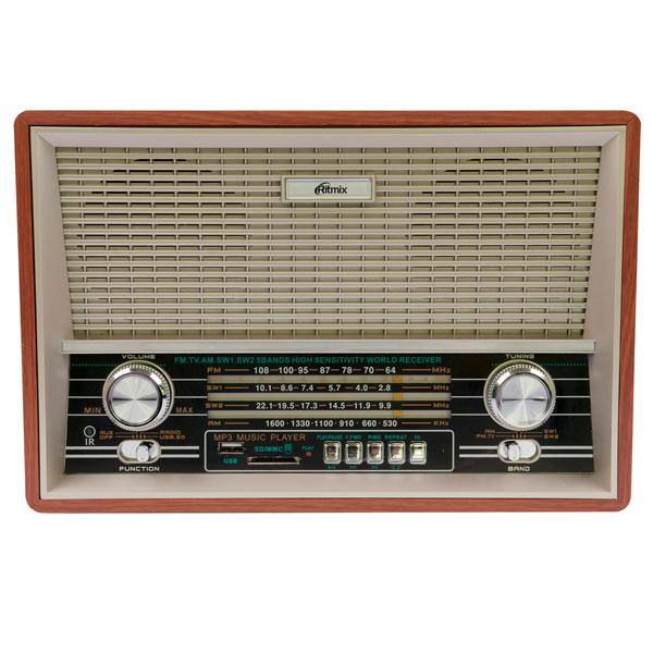 Радиоприемник Ritmix RPR-101 Wood радиоприемник дв св укв