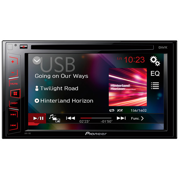 Автомобильная магнитола с DVD + монитор Pioneer AVH-190
