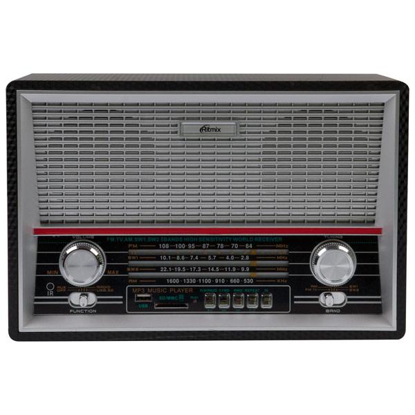 купить Радиоприемник Ritmix RPR-101 Black недорого