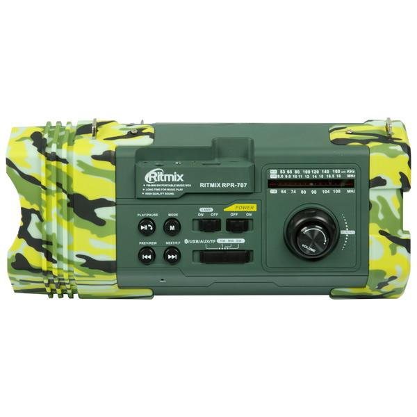 Радиоприемник Ritmix RPR-707 радиоприемник дв св укв