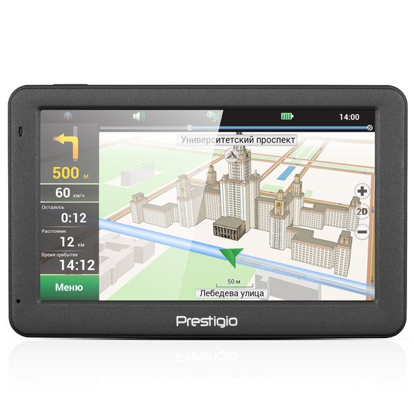 все цены на Портативный GPS-навигатор Prestigio GeoVision 5059 (PGPS5059CIS04GBNV) онлайн