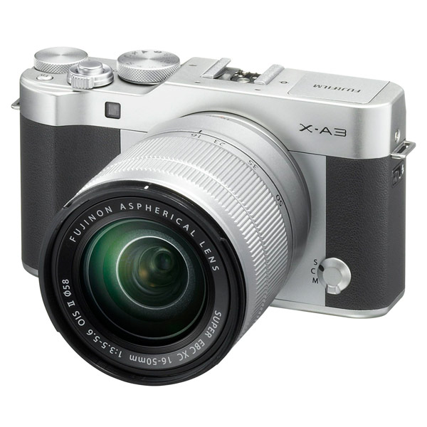 Фотоаппарат системный Fujifilm X-A3 Kit 16-50 II Silver фотоаппарат fujifilm x t1 body graphite silver edition