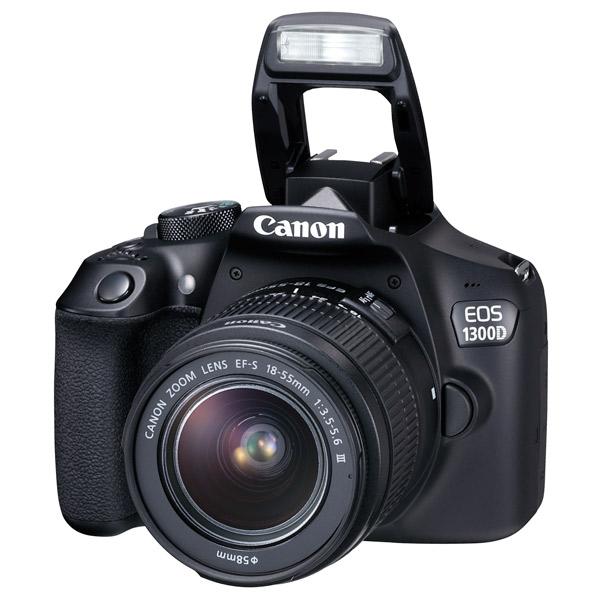 Canon, Фотоаппарат зеркальный, EOS 1300D 18-55 DC Kit