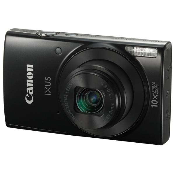 Фотоаппарат цифровой компактный Canon IXUS 190 Black