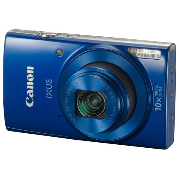 Фотоаппарат компактный Canon IXUS 190 Blue фотоаппарат canon ixus 190 blue