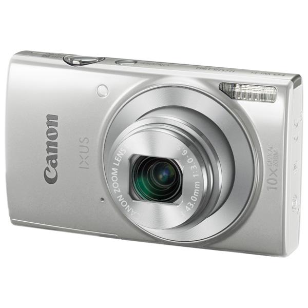 Фотоаппарат компактный Canon IXUS 190 Silver фотоаппарат canon ixus 190 blue
