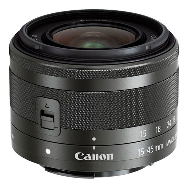 Объектив Canon EFM 15-45mm f/3.5-6.3 IS STM Black