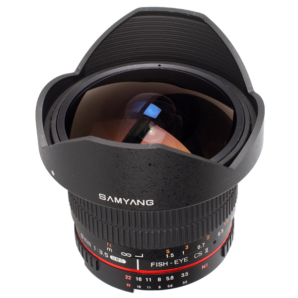 Объектив для зеркального фотоаппарата Canon Samyang 8mm f/3.5 AS IF UMC Fish-eye CS II Canon EF samyang mf8mm f 2 8 as if umc feye