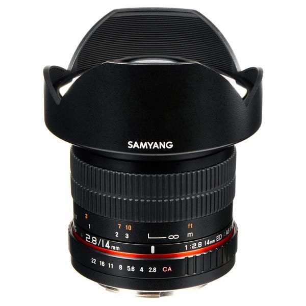 Объектив для зеркального фотоаппарата Canon Samyang 14mm f/2.8 ED AS IF UMC AE Canon EF объектив samyang 85mm f 1 4 as if canon ef