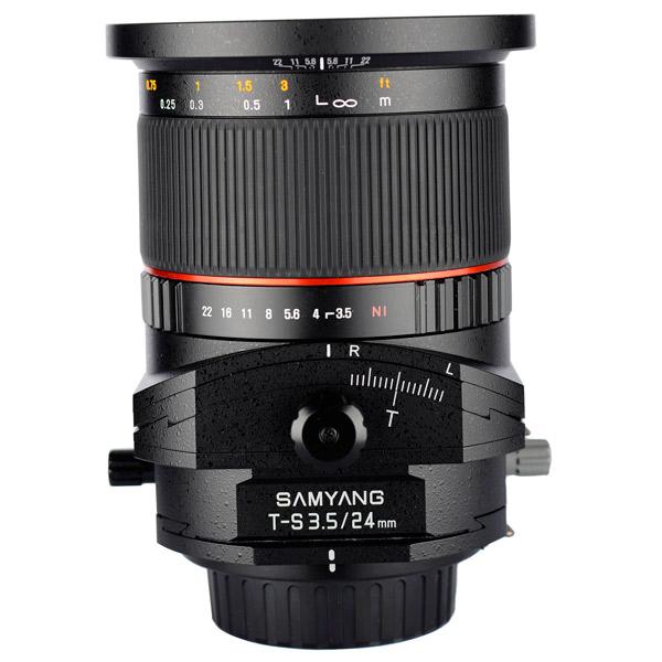 Объектив Samyang T-S 24mm f/3.5 AS ED UMC Canon EF canon as 130 черный